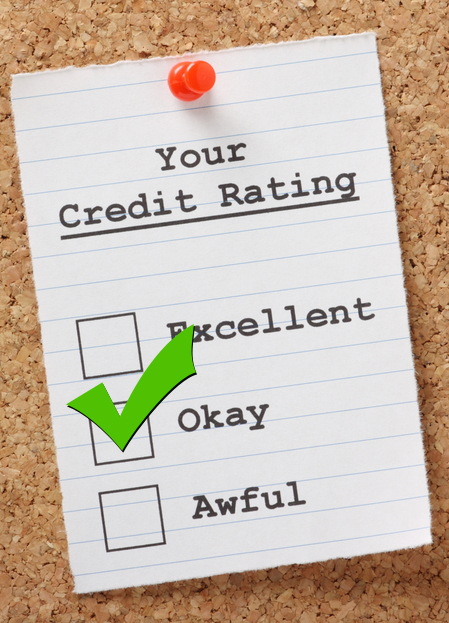 Your Credit Rating Average