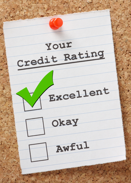 Your Credit Rating Excellent