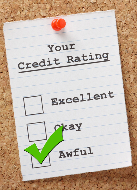 Your Credit Rating Poor